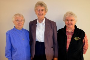 Presentation Sisters' Justice Commission:  Sisters Gabriella Crowley, Kathleen Bierne and Pat Prunty.