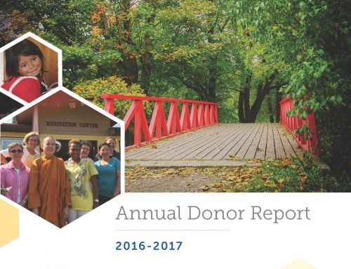 Annual Donor Report 2016-2017