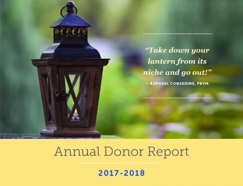 Presentation Sisters Annual Donor Report
