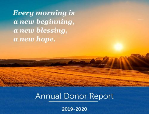 2019-2020 Annual Donor Report