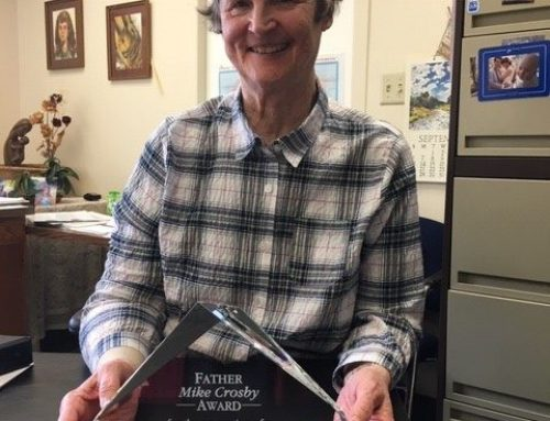 Sister Ruth Geraets honored with the 2020 Fr. Mike Crosby Award
