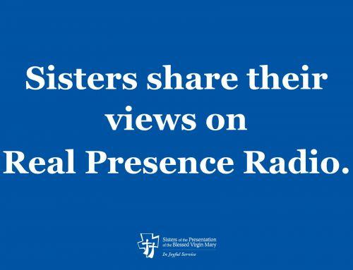 Sisters share views on Real Presence Radio