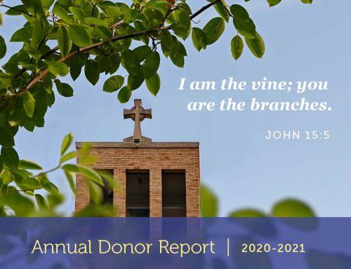 2020-2021 Annual Donor Report
